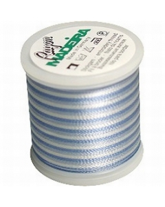 Madeira Variegated Rayon Thread 200m - 2016 Pastel Blues