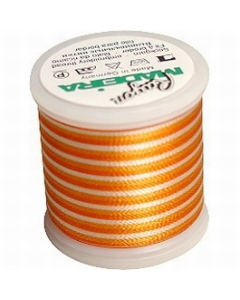 Madeira Variegated Rayon Thread 200m - 2022 Rust Peaches