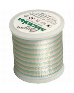 Madeira Multi Rayon Thread 200m - 2103 Baby Pink/ Mint/ Blue