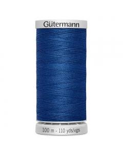 Gutermann Extra Strong Thread (214) Oxford Blue 100m
