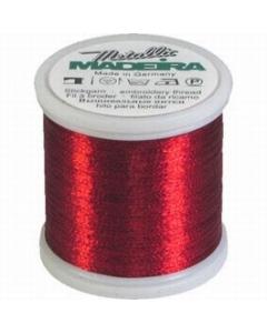 Madeira Metallic Thread 200m 315 Ruby