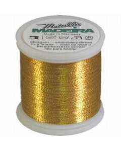 Madeira Metallic Thread 200m Gold 7