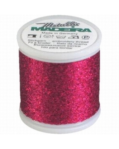 Madeira Metallic Supertwist 200m - 18 Berry Sparkle
