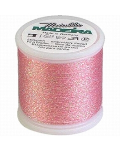 Madeira Metallic Supertwist 200m - Cotton Candy