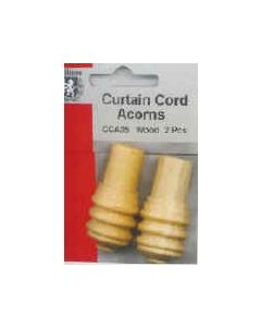 Curtain Cord Wood Acorns
