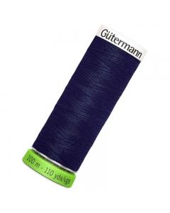 Gutermann rPET Sew All Thread 100m Navy Blue (310)