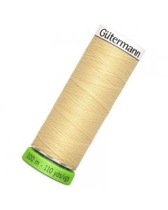 Gutermann rPET Sew All Thread 100m Yellow (325)