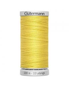 Gutermann Extra Strong Thread (327) Banana Yellow 100m