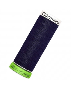 Gutermann rPET Sew All Thread 100m Blue (339)