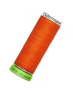 Gutermann rPET Sew All Thread 100m Orange (351)