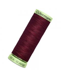 Gutermann Top Stitch Thread (369) 30m Mulberry