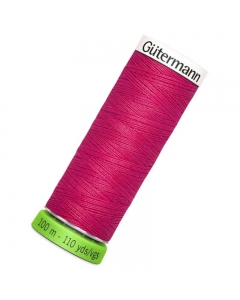 Gutermann rPET Sew All Thread 100m Cerise (382)