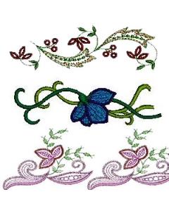 21 set Linen Embroidery Design