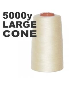 Large ivory overlock thread cone