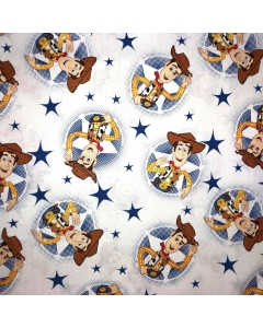 Toy Story's Woody Character Fabric
