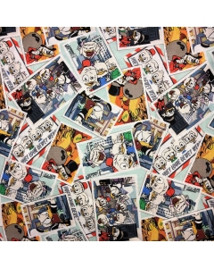 Disney's Donald Duck and Friends Snapshot Fabric