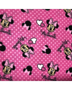 Disney's Pink Minnie Mouse Fleece