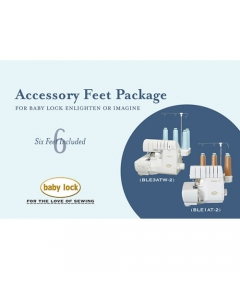 Babylock Serger accessory feet package