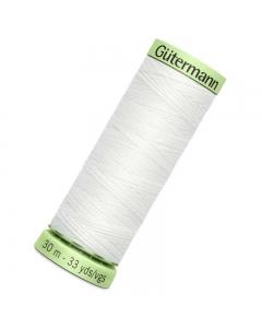 Gutermann Top Stitch Thread (800) 30m White