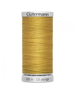 Gutermann Extra Strong Thread (968) Jeans Gold 100m