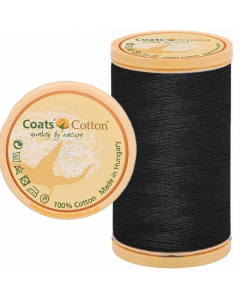 Coats Cotton Thread 9750 Black