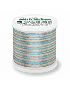 Madeira Multi Rayon Thread 200m - 2103 Baby Pink/ Mint/ Blue