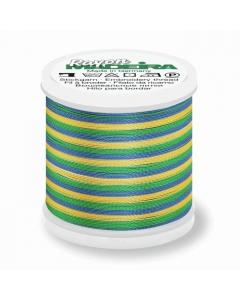 Madeira Multi Rayon Thread 200m - 2146 Blue/ Green/ Yellow