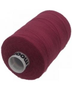 Moon Polyester Overlocking Thread 1000yds Wine