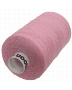 Moon Polyester Overlock Thread 1000yds Pink