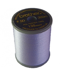 Brother satin finish embroidery thread. 300m spool LAVENDER 804