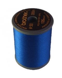 Brother satin finish embroidery thread. 300m spool ULTRAMARINE 406
