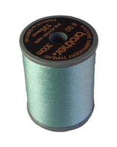 Brother satin finish embroidery thread. 300m spool SEACREST 542