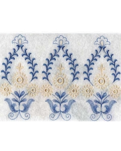 Endless Linen Embroidery Design