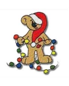 13 set Bear Christmas Embroidery Design