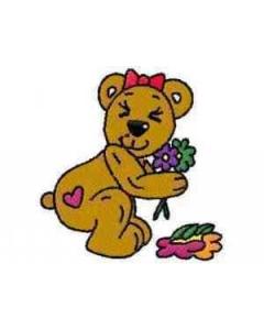 12 set Belinda Bear Embroidery Design
