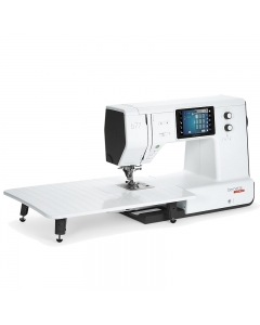 Bernette b77 sewing machine with large extension table attached