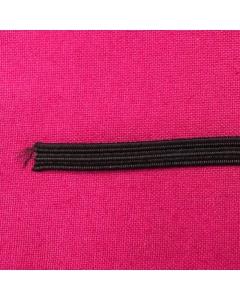 hemline premium quality black 3mm elastic
