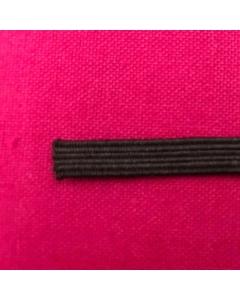 hemline premium quality black 5mm elastic
