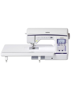 Brother NV1800 sewing machine with extension table
