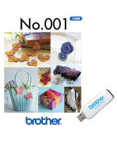 Brother USB Memory Stick No.001 3D Combination Motifs
