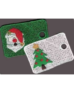 Christmas Gift Tag Machine Embroidery Designs