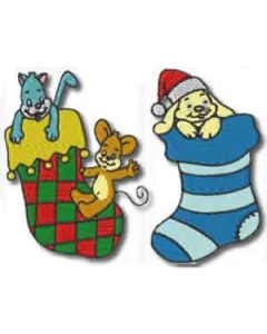 Christmas Stockings Machine Embroidery Designs