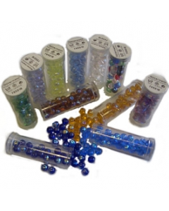 Transparent Rainbow Beads