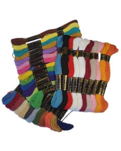 Stranded Cotton winter assorted colours