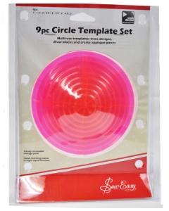 9pc Circle Template Set