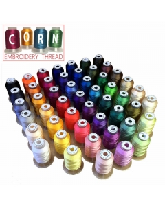 CORN Embroidery Thread 50 x 500m Pack