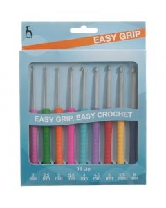 Easy grip pony crochet hooks