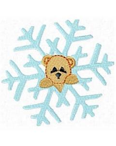 Animal Snowflake Machine Embroidery Designs