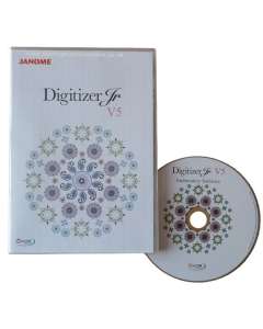 Digitizer JR V5 designs can be sent directly from your PC straight into the machine via USB or port connection