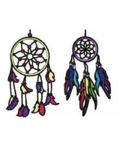 10 set Dream Catcher Embroidery Design